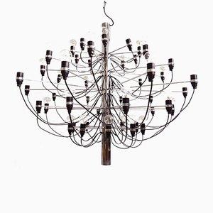 Lámpara de araña modelo 2097 Mid-Century de Gino Sarfatti para Arteluce