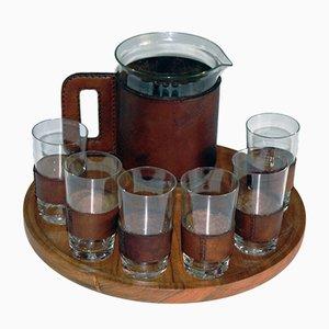 Set di bicchieri e brocca di Auböck, anni '50