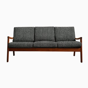 Customizable Vintage Teak Senator Sofa by Ole Wanscher for Cado
