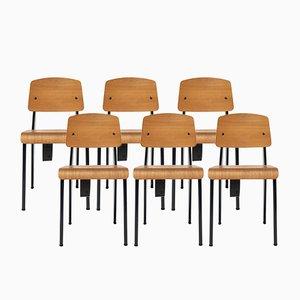 G-Star RAW Standard Stühle von Jean Prouvé für Vitra, 2011, 6er Set