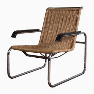 Sedia a sbalzo modello B35 vintage di Marcel Breuer per Thonet