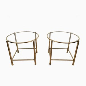 Vintage End Sofa Tables, Set of 2