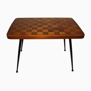 Viennese Side Table with Checkerboard, 1950s