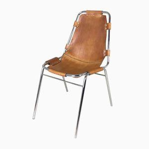 Vintage Les Arcs Chair by Charlotte Perriand