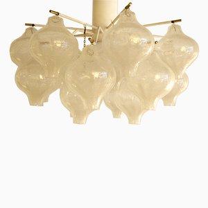 Lampadario modello Tulipano vintage di J.T. Kalmar, Vienna