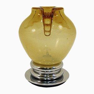 Lámpara de mesa grande de Mazzega, años 70