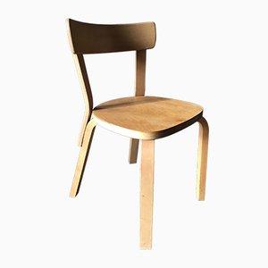 Chaise Modèle 69 Vintage par Alvar Aalto pour Artek