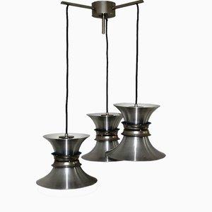Lámpara de araña de cascada Mid-Century de Jo Hammerborg para Fog & Morup