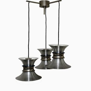 Mid-Century Cascading Chandelier by Jo Hammerborg for Fog und Morup