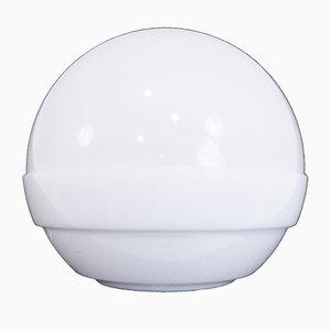 Lámpara grande con forma de bola de André Ricard para Metalarte, años 70