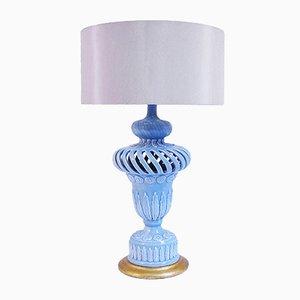 Lámpara de mesa de cerámica de Manises, años 60