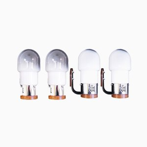 Set di lampade di Carlo Nason per Mazzega, anni '70
