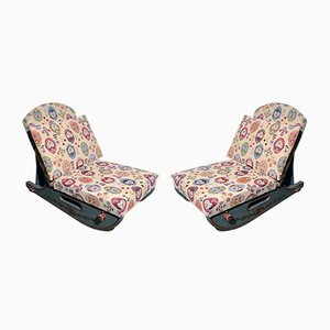 Tyrolean Sledding Chairs, 1950s, Set of 2