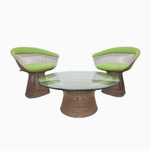 Set de Salon par Warren Platner pour Knoll, 1979