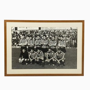 Photograph of the Lecco Serie A Football Team, 1960