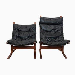 Vintage Siesta Armchairs by Ingmar Relling for Westnofa, Set of 2