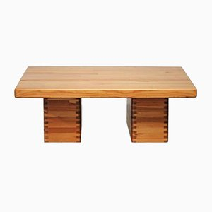 Finnish Pine Coffee Table by Ilmari Tapiovaara, 1955