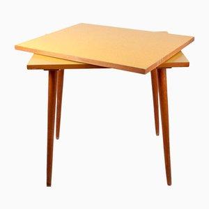 Tschechischer Formica Beistelltisch mit Drehbarer Tischplatte, 1960er