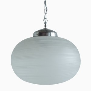 Vintage Glas Kugellampe von Murano, 1980er
