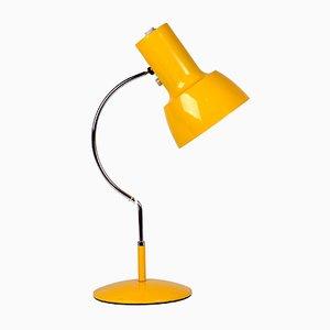 Lámpara de mesa modelo 0521 amarilla de Josef Hurka para Napako, años 70