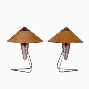 Lámparas de mesa vintage de Helena Frantová para Okolo. Juego de 2