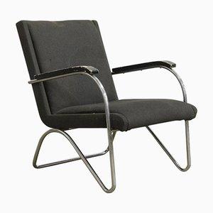 Easy Chair Vintage par L.C. Van Der Vlugt pour Brinkman & Van Der Vlugt, 1930s