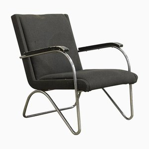 Vintage Easy Chair by L.C. Van Der Vlugt for Brinkman & Van Der Vlugt, 1930s