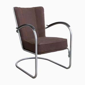 412 Easy Chair by W.H. Gispen for Gispen, 1960s