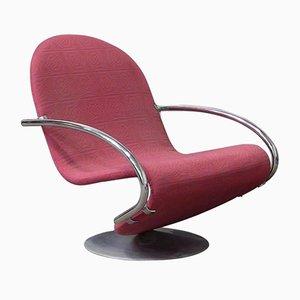 Easy Chair 1-2-3 par Verner Panton pour Fritz Hansen