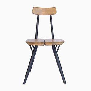 Vintage Pirkka Stuhl von Ilmari Tapiovaara für Laukaan Puu
