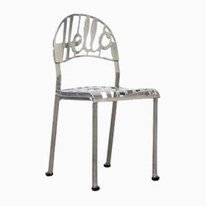 Chaise Hello There Vintage en Chrome Plaqué par Jeremy Harvey pour Artifort
