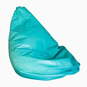 Vintage Sacco Beanbag in Turquoise by Piero Gatti for Zanotta