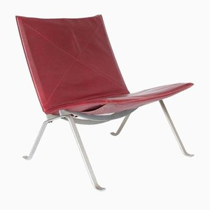 Mid-Century PK22 Lounge Chair by Poul Kjaerholm for E. Kold Christensen