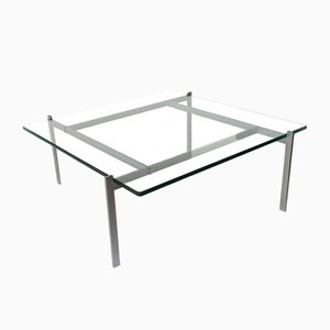 Vintage PK61 Coffee Table by Poul Kjærholm for E. Kold Christensen