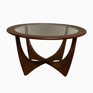 Round Astro Teak Table by Victor Wilkins for G-Plan, 1960s