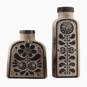 Mid-Century Luxus Series Vasen von Dieter Peter für Carstens Tönnieshof, 2er Set