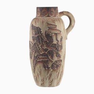 Grand Vase Mid-Century Fat Lava Gladiator Floor Vase de Scheurich
