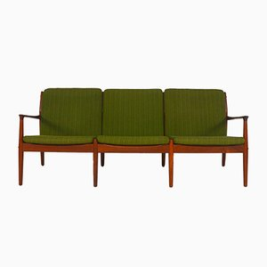 Danish 3-Seater Teak Sofa by Grete Jalk for Glostrup Møbelfabrik