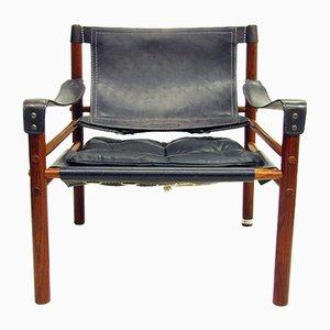 Palisander Sirocco Stuhl von Arne Norell, 1960er