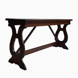 Antique Small Oak Bench, 1910