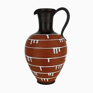 Große Vintage Krugvase von Ilkra Keramik