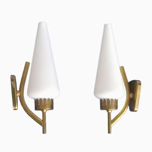 Sconces by Angelo Lelii for Arredoluce, 1950s, Set of 3