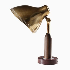 Lampe de Bureau en Laiton d'Ateljé Lyktan, 1940s