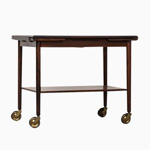 Scandinavian Trolley in Rosewood and Formica from Mogens Hansen, 1960s