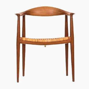 Mid-Century JH-501 Armlehnstuhl von Hans Wegner für Johannes Hansen