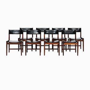 Dining Chairs by Kurt Østervig for Sibast, Set of 8