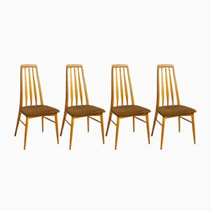 Eva Chairs by N. Koefoed for Hornslet, 1964, Set of 4