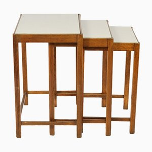 Vintage M-48 Nesting Tables from Thonet