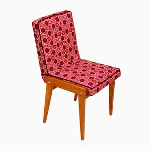 Vintage Raspberry Side Chair