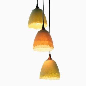 Lámparas en forma de concha de Nir Meiri. Juego de 3